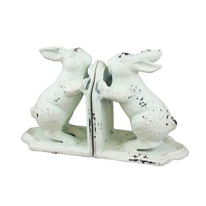 Housenot Bookend Bunnies