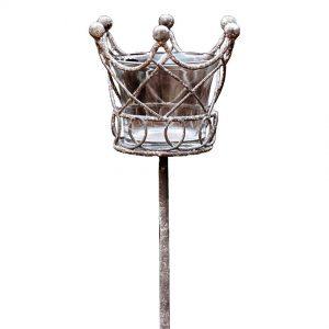 Crown Tealight Holder on Spike