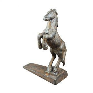 Bronze Horse Door Wedge