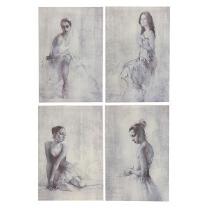 French Ballerina Art Series