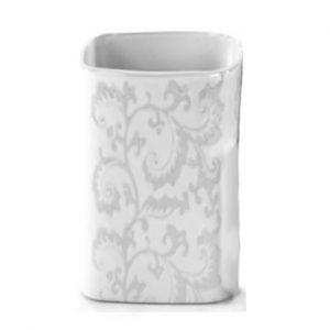 White Lace Vase