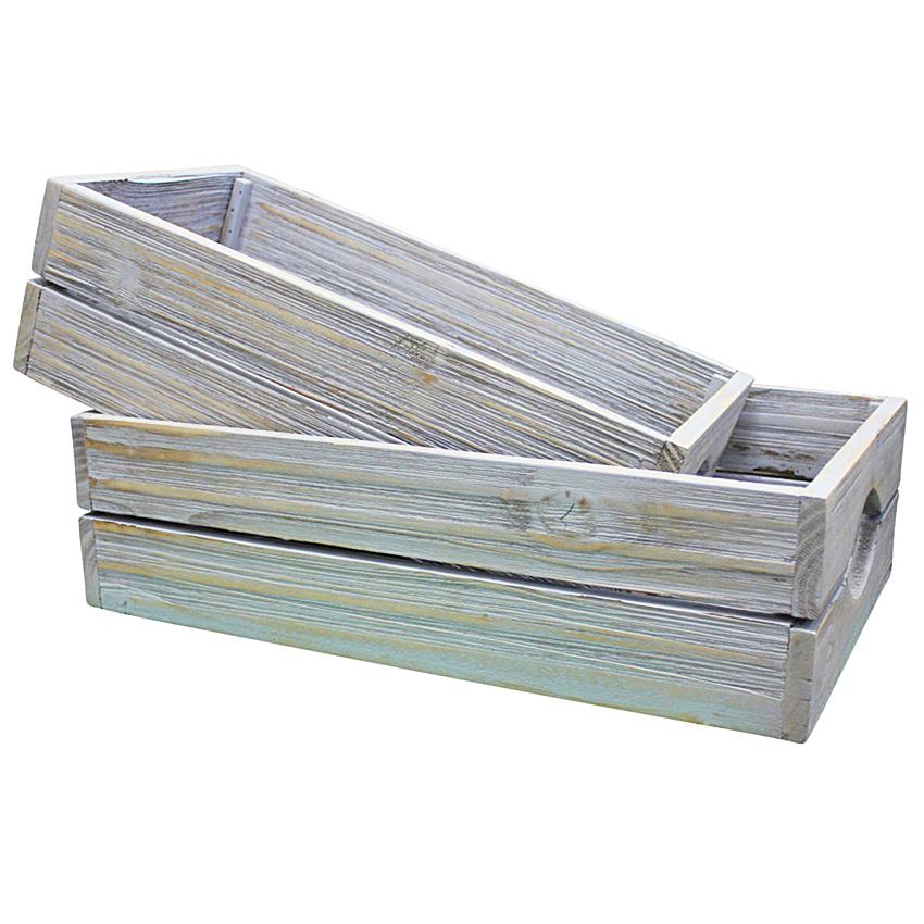 Wooden Storage Trays